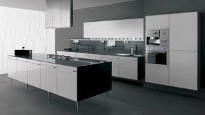 black and white kitchen interior video and photos