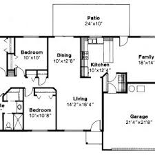decor best ranch floor plans and 3 bedroom rectangular house plans