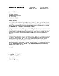 sample account manager cover letter cover letter example business