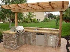how to build a outdoor kitchen island 25 outdoor kitchen ideas bbq island and kitchens
