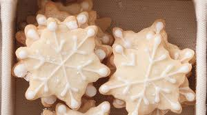 how to make snowflake shortbread cookies cookie recipe youtube
