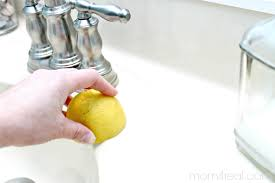 how to remove rust stains from porcelain sink how to get a clean porcelain sink and remove rust stains too mom