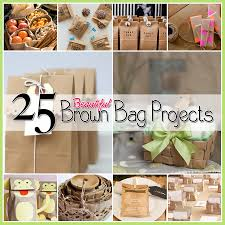 25 brown bag crafts create and recycle the cottage market