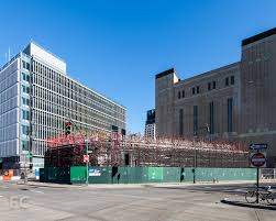 tower o u0027 garbage nearly complete salt shed starts rising curbed ny