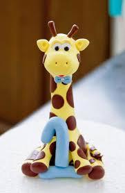 giraffe cake topper goofy giraffe cake topper 15 00 via etsy jasper s
