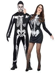 comment faire un maquillage de squelette déguisement halloween couple