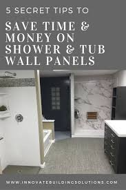 shower and tub surround panel tips to save time and money bathroom