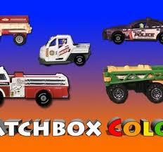 matchbox colors cars trucks vans monster trucks fire