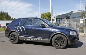 bentley bentayga 2015 bentley bentayga spied again almost free of camo