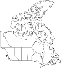canada blank map canada facts capital city currency flag language landforms