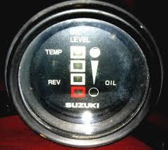 outboard temp gauge ebay