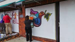 painting for peace why artists are coming to ferguson armed with