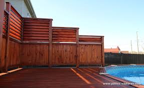 Privacy Screens Privacy Screens For An Above Ground Pool Deck Isabelle Patio