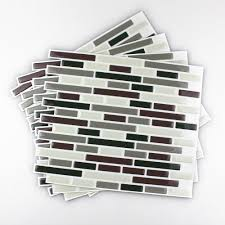 Kitchen Backsplash Decals Fancy Fix Vinyl Peel And Stick Decorative Backsplash Kitchen Tile