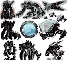 robot sketches by deonn on deviantart