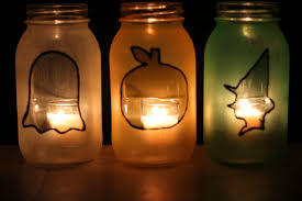 halloween flameless candles halloween frosted mason jars my crafty spot when life gets
