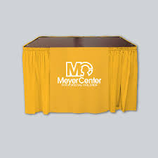 Table Skirts Custom Table Skirts With Logo Tabledrapes Com