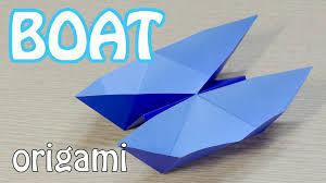 twin boat origami youtube