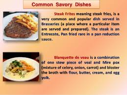 meaning of cuisine in cuisine ppt