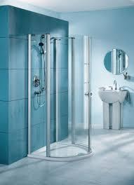 Teal Powder Room Shower Floor Tile Modern Powder Room Vanity And Sink Stainless