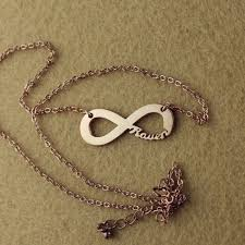 Infinity Name Necklace 41 Best Ns Infinity Jewelry Images On Pinterest Infinity Jewelry