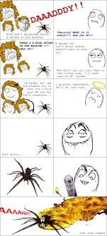 Huge Spider Memes Image Memes - that s me with any spider dose them hard i hate creepy