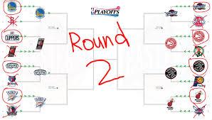 Nba Map Nba Playoffs Predictions Round 2 2016 Youtube