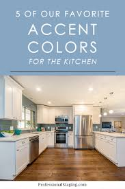 Kitchen Accent Furniture 5 Of Our Favorite Accent Colors For The Kitchen