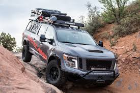 nissan titan off road bumper nissan titan xd pro 4x project basecamp is one tough truck