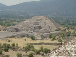 Teotihuacan Mexico Map by