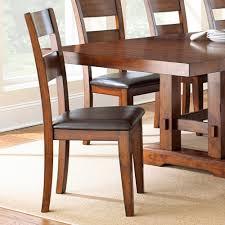 steve silver zappa 9 piece dining room set in medium cherry