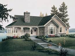 small country house plans with porches brick best house design