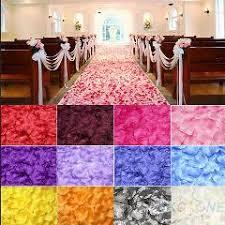 wedding decorations wholesale 1200pcs lot cheap wholesale wedding decorations artificial silk