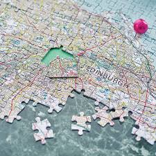 personalised our house map jigsaw by thelittleboysroom