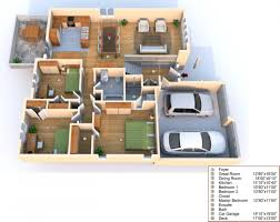 Free Design Your Home Designing Your Own Home With 3 Bedrooms And Big Garage It Design