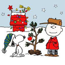 charlie brown christmas tree christmas lights decoration