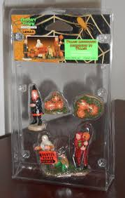 halloween village accessories 232 best holiday items images on pinterest figurines christmas