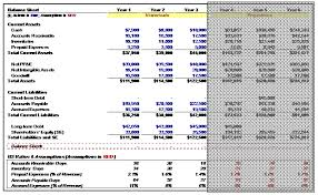 Accrual Accounting Excel Template Three Statement Financial Modeling Of Walls