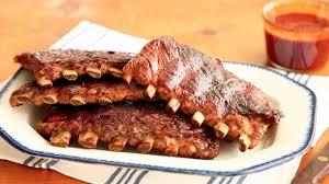 video brine boiled pork ribs martha stewart