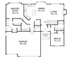 2 bedroom ranch house plans open ranch house plans with porches 13 17 best ideas about floor
