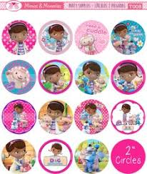 doc mcstuffins party printables cupcake toppers and cupcake