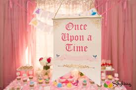 rose gold candy table disney princess royal birthday celebration styling the moment