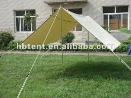 Bell Tent Awning 4m 5m Canvas Tarp Tent Awning Canopy Tent Iso9001 2008 Buy