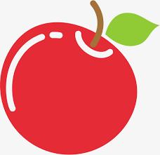 apple cartoon red cartoon apple red apple cartoon fruit decorative pattern png
