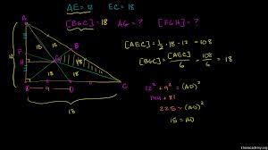 triangle medians u0026 centroids video khan academy
