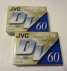 dv cassette jvc dvm60 digital cassette mini dv 60 90 minute blank