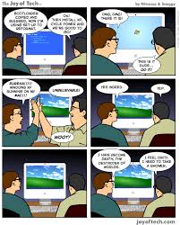 Windows Vs Mac Meme - 40 funny mac vs pc vs linux comics geeky stuffs