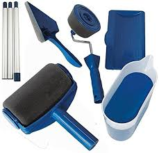 what type of paint roller to use on kitchen cabinets paint roller with reservoir 5pcs set handle tool