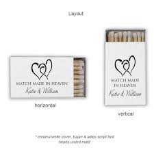 personalized wedding matches personalized classic wedding matches favors wedding matches