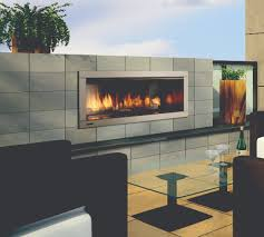 outdoor gas fireplaces horizon hzo42 kastle fireplace